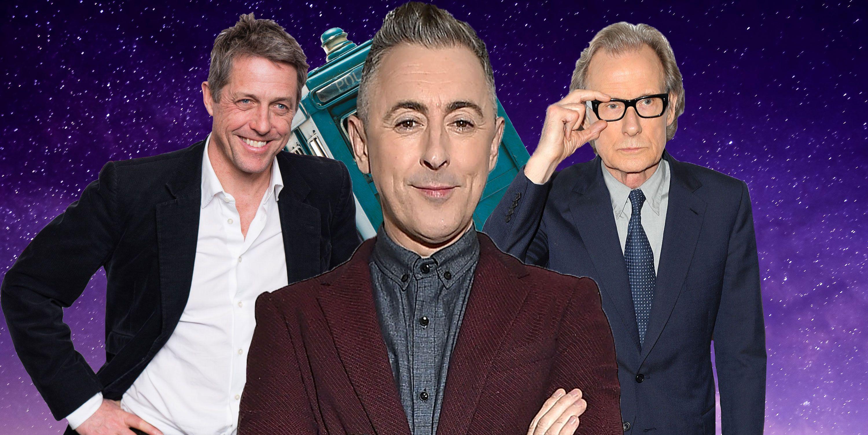 PHOTOSHOP, Doctor Who, Hugh Grant, Bill Nighy, Alan Cumming