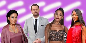 Jessie Wallace, Danny Dyer, Arian Grande, Naomie Campbell, 2018