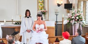 Kerry Wyatt Emmerdale wedding