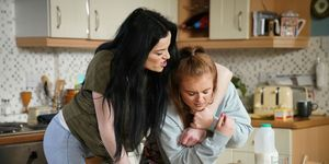 Hayley Slater and Tiffany Butcher clash in EastEnders