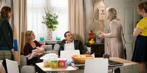 Eva Price is visited by a social worker in Coronation Street