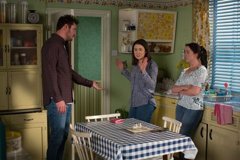 Bex Fowler is angry over Martin's plans to move in EastEnders