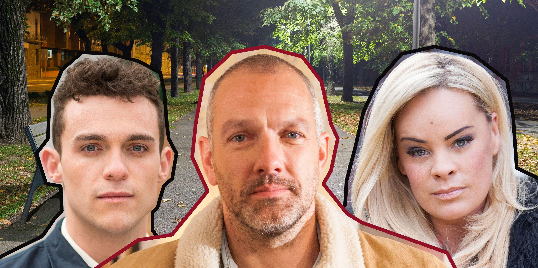 Glenn Donovan, Grace Black, Jesse Donovan, Hollyoaks
