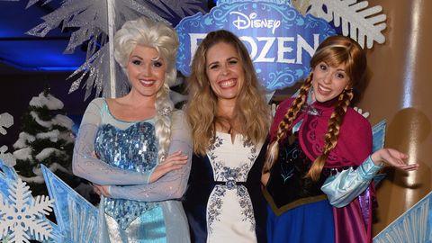 Jennifer Lee attends The World Premiere of Walt Disney Animation Studios' 'Frozen' After Party