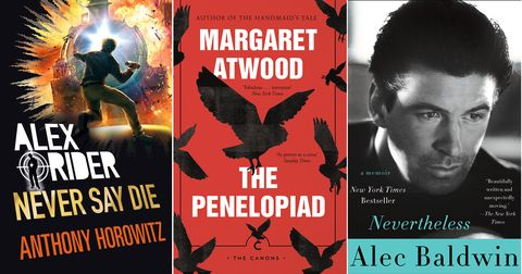 Alex Rider, Alex Baldwin, Margaret Atwood, Big Books