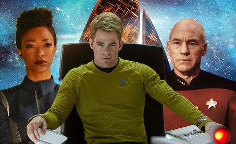 Star Trek Franchise Tv Shows And Movies