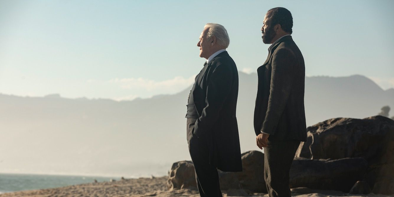 Ford and Bernard in Westworld 2x10
