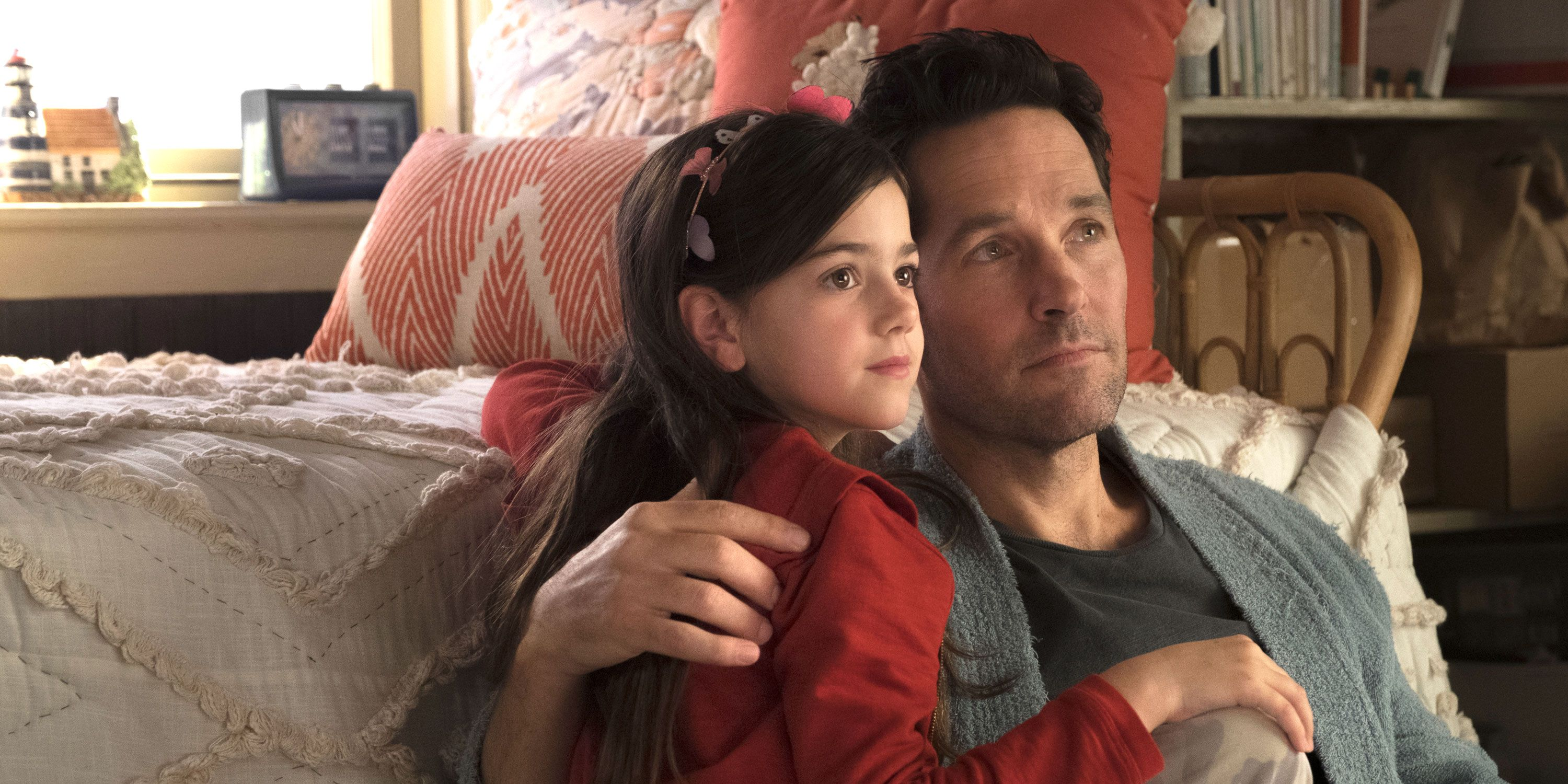 Ant-man and The Wasp, Cassie Lang, Abby Ryder Fortson, and Ant-Man/Scott Lang, Paul Rudd