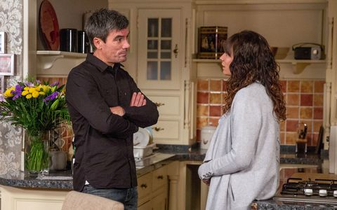 Chas Dingle tells Cain everything in Emmerdale