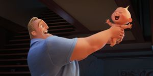 Incredibles 2, Mr Incredible, Baby Jack-Jack