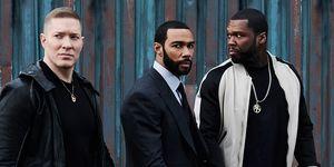 Joseph Sikora as Tommy Egan, Omari Hardwick as Ghost, 50 Cent as Kanan, Power, Season 5