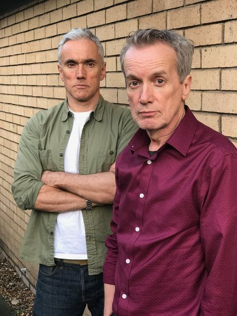 Ben Miles and Frank Skinner say