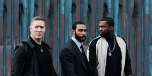 Power season 5: Joseph Sikora (Tommy), Omari Hardwick (Ghost), 50 Cent (Kanan)
