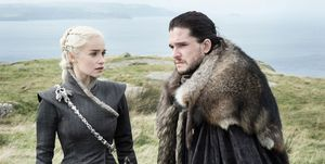 Game of Thrones, Daenarys Targaryen, Jon Snow
