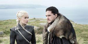 Game of Thrones, Daenarys Targaryen, Jon Snow