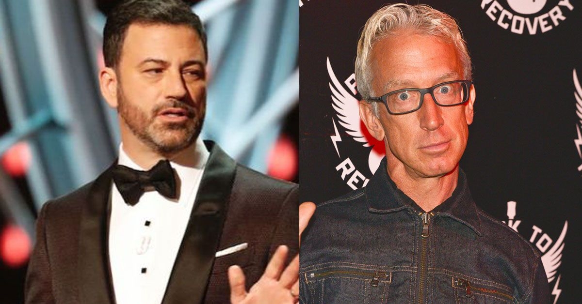 Andy dick gets jimmy kicked kimmel off photo 410
