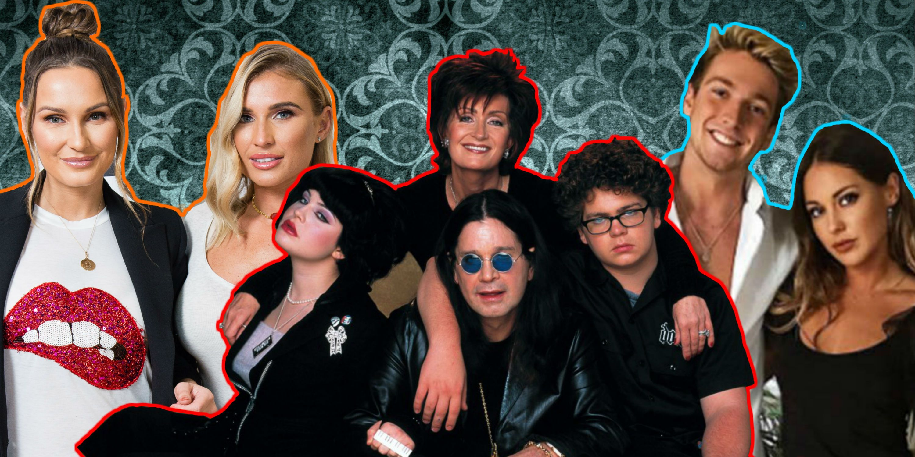 Reality TV family dynasties – Sam and Billie Faiers, The Osbournes, Sam and Louise Thompson