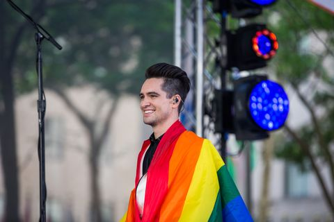 135d6a3f Brendon Urie of Panic! At the Disco on Friday, June 29, 2018