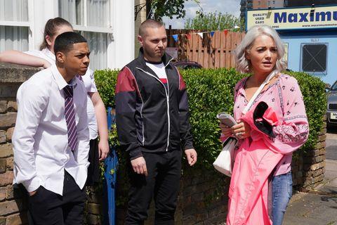Kandice Taylor returns in EastEnders