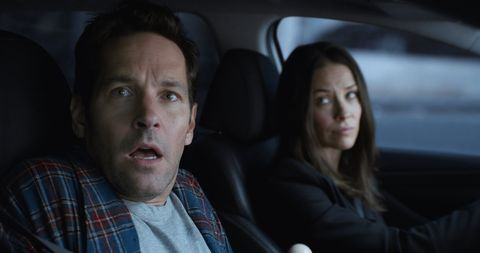 Ant-Man and the Wasp still, Paul Rudd shocked