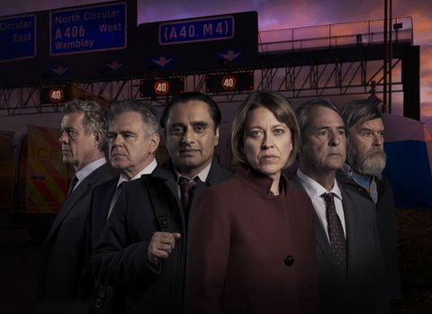 Unforgotten season 3 cast - Nicola Walker, Alex Jennings, Sanjeev Baskar
