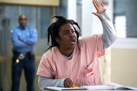 Uzo Aduba as Suzanne, Crazy Eyes, Orange is the New Black, OITNB, season 6
