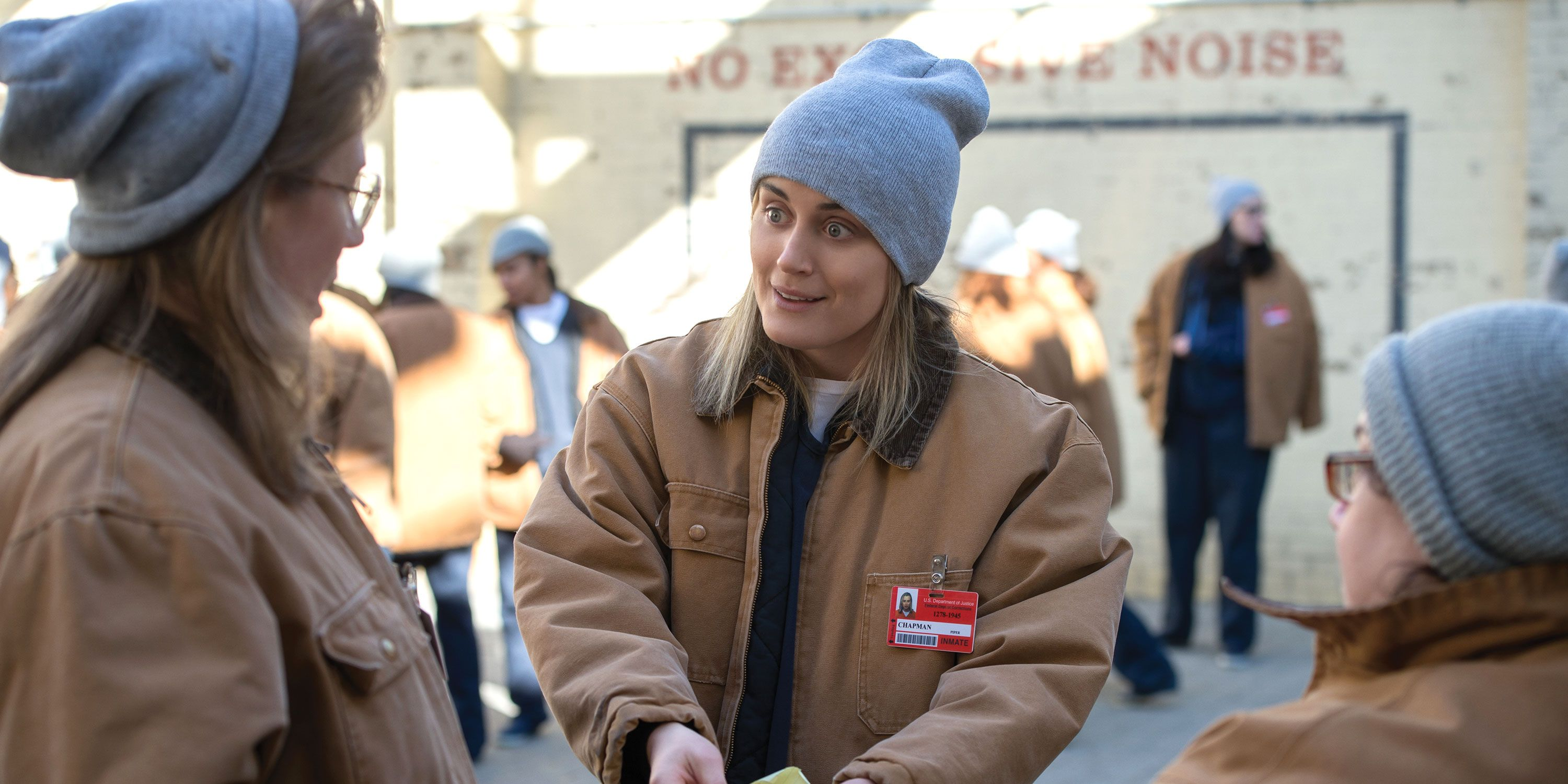 Taylor Schilling as Piper Chapman, Orange is the New Black, OITNB, season 6