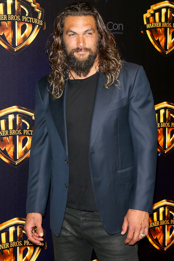 Aquaman's Jason Momoa is unrecognisable in throwback Baywatch pictures – after admitting he lied to get the role