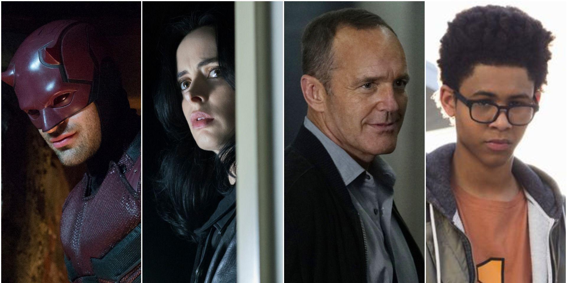 Marvel TV shows: Daredevil, Jessica Jones, Agents of SHIELD, Runaways