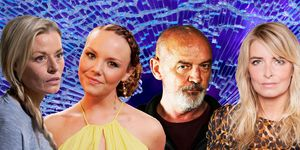 Janine Butcher, Andrea Sommers,  Pat Phelan, Charity Dingle, Soap Con Artists, 2018