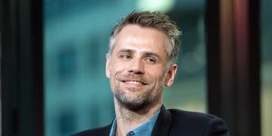 Richard Bacon attends the Build Series to discuss 'Explorer'