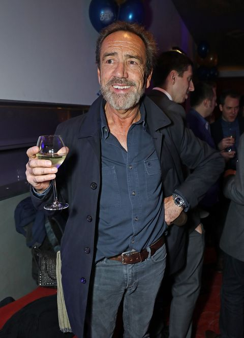 Robert Lindsay attends the press night after party for 'Half A Sixpence' in November 2016