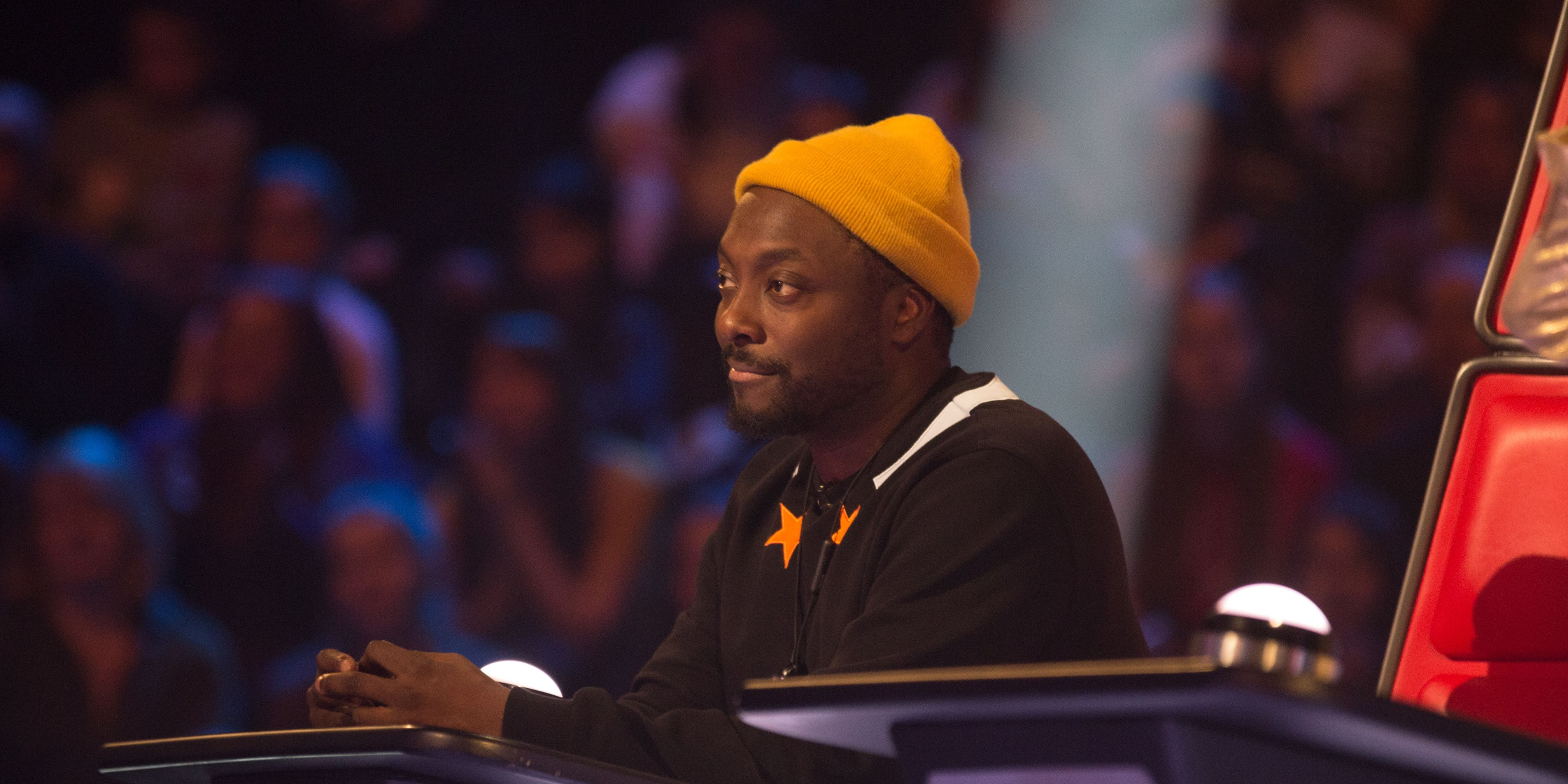 will.i.am on The Voice Kids episode 1
