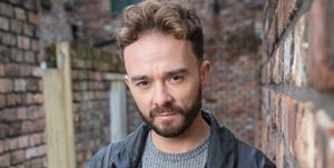Jack P Shepherd as David Platt in Coronation Street