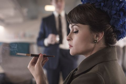 The Crown season 3 recreates Princess Margaret's affair in new set pictures with Helena Bonham Carter