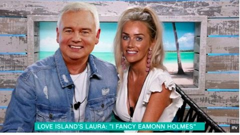 This Morning Eamonn Holmes and Love Island's Laura