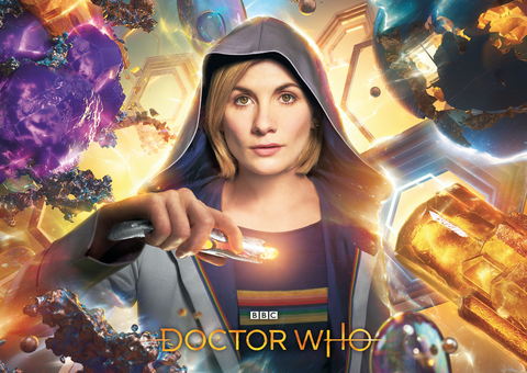 Doctor Who Series 11 - sonic screwdriver (Embargoed for publication until 21:00:01 on Thursday 19/07/2018)
