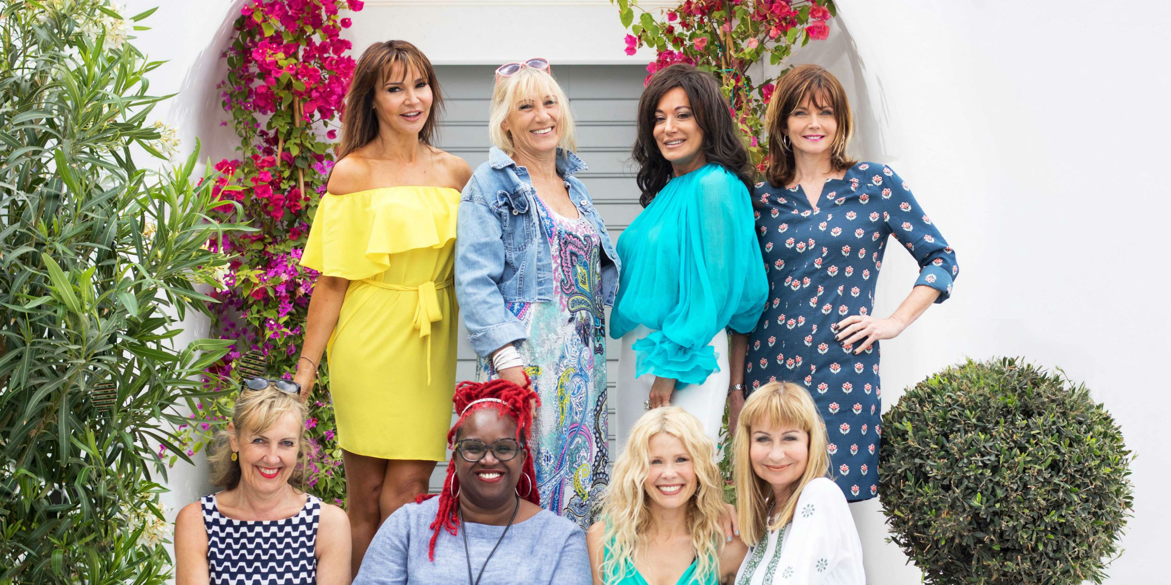 The cast of Our Shirley Valentine Summer