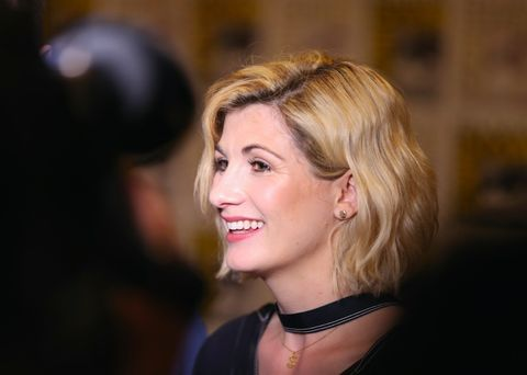 Jodie Whittaker at San Diego Comic-Con