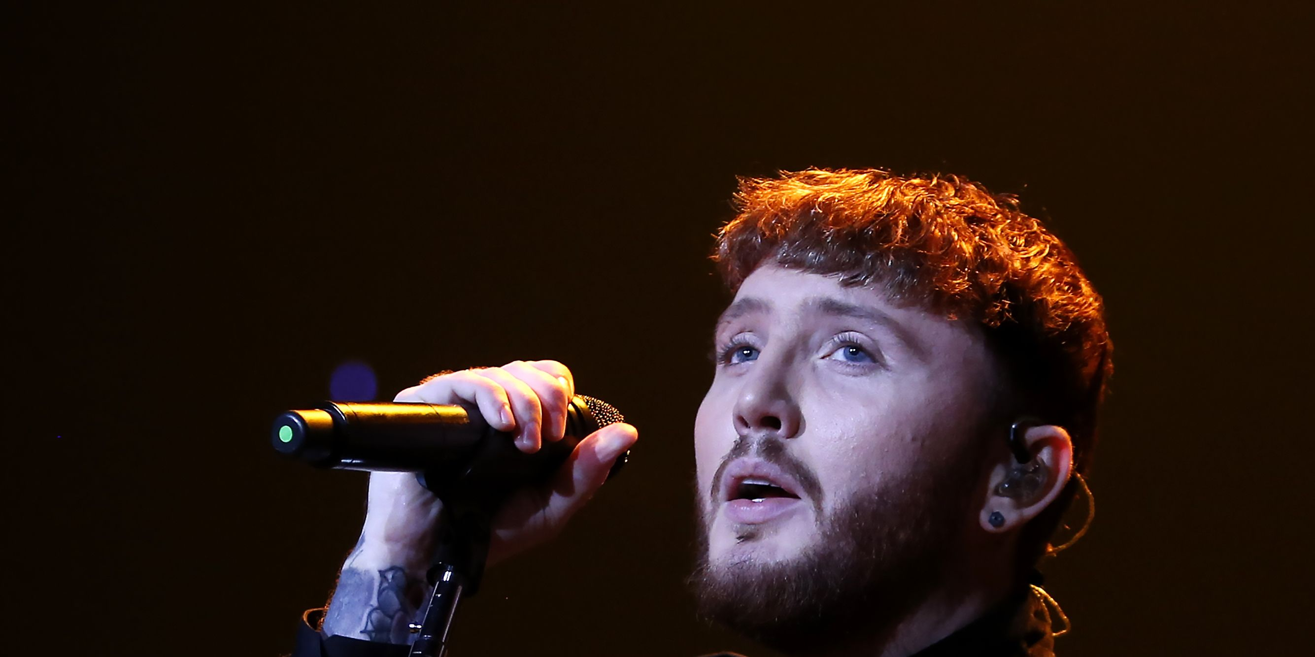 James Arthur performs at SSE Arena Wembley in November 2017