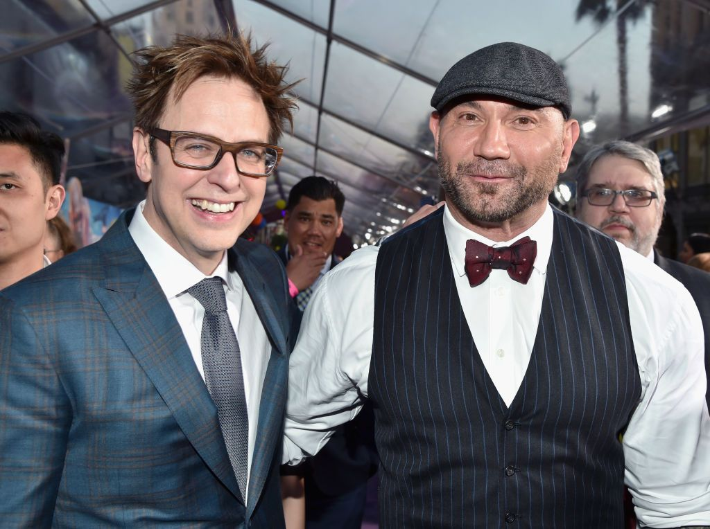 Guardians of the Galaxy's Dave Bautista slams Disney for sacking James Gunn in sweary rant