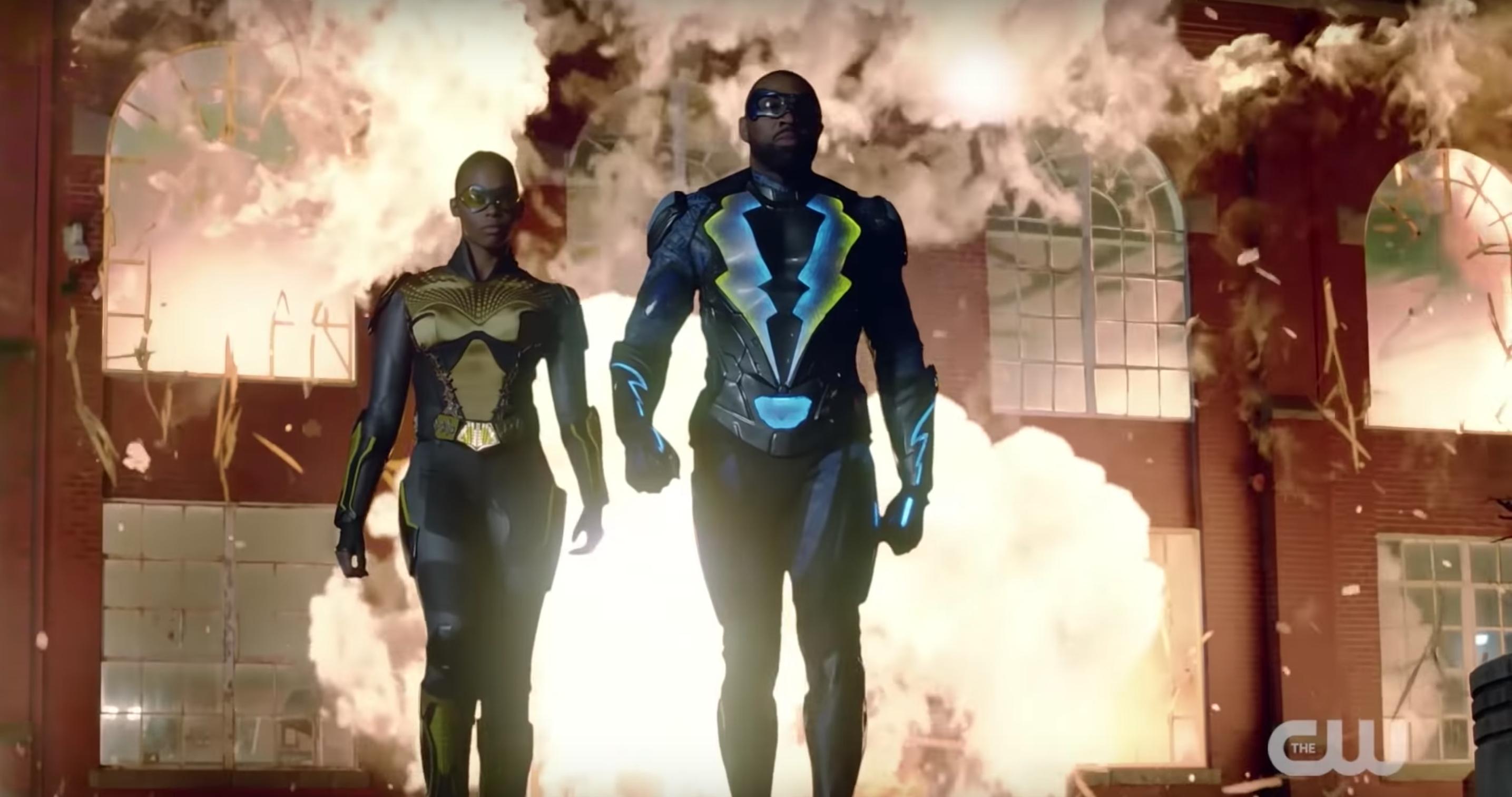 Black Lightning star reacts to Jefferson's new costume in season 3