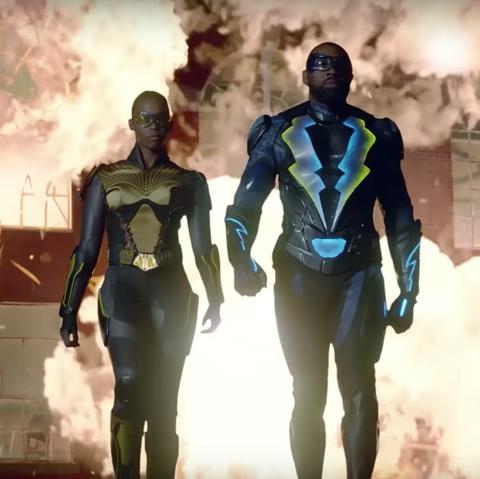 Black Lightning star hints major DC superhero team could join show