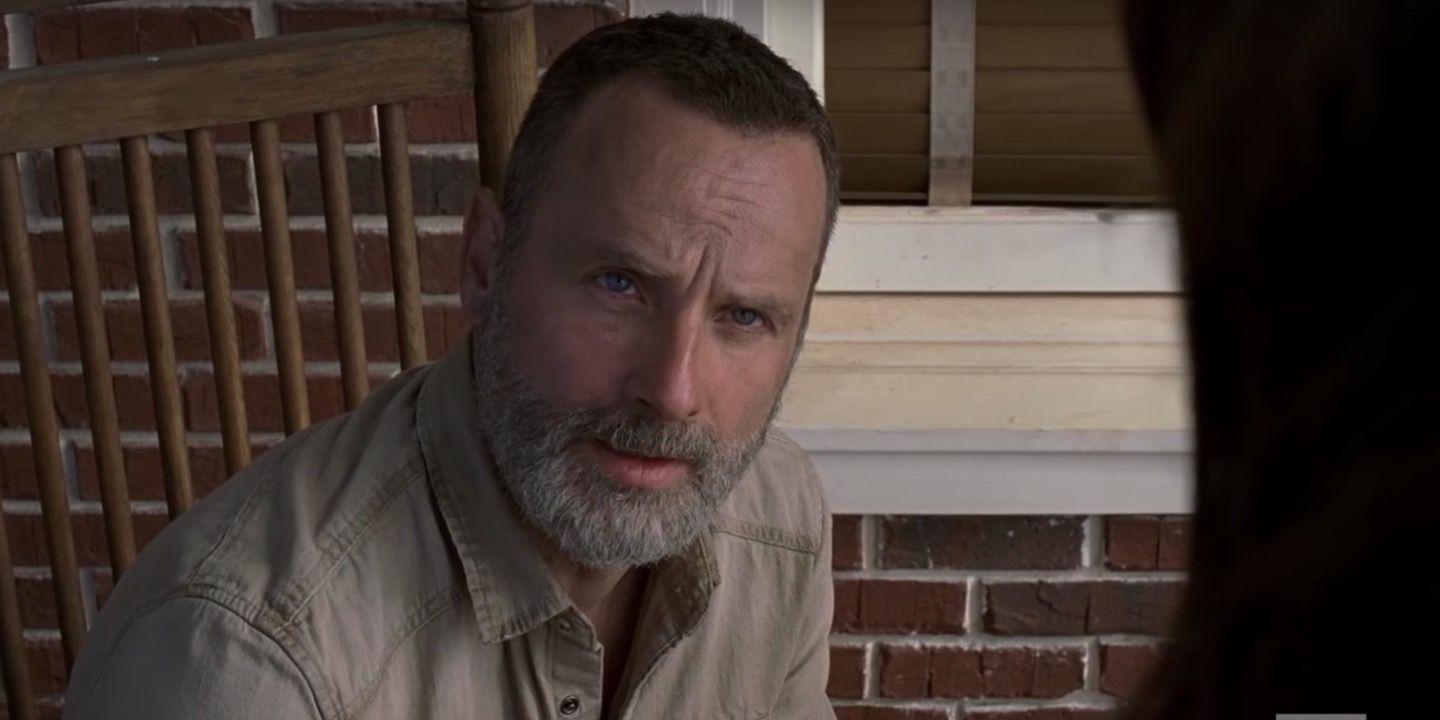 Rick Grimes in The Walking Dead season 9