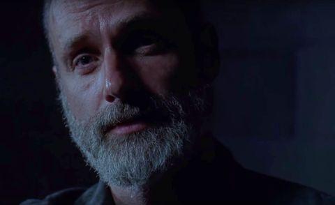 Rick Grimes in The Walking Dead season 9