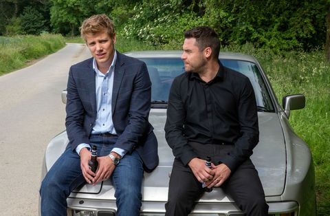 Aaron Dingle wants to propose to Robert Sugden in Emmerdale