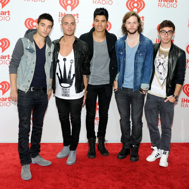 tom parker, max george, siva kaneswaran, jay mcguiness, nathan sykes of the wanted pictured in 2014