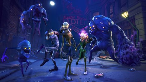 Fortnite S Mysterious Purple Cube Has Just Transformed Loot Lake In