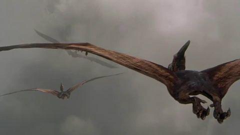 Jurassic Park III (2001) pteranodons