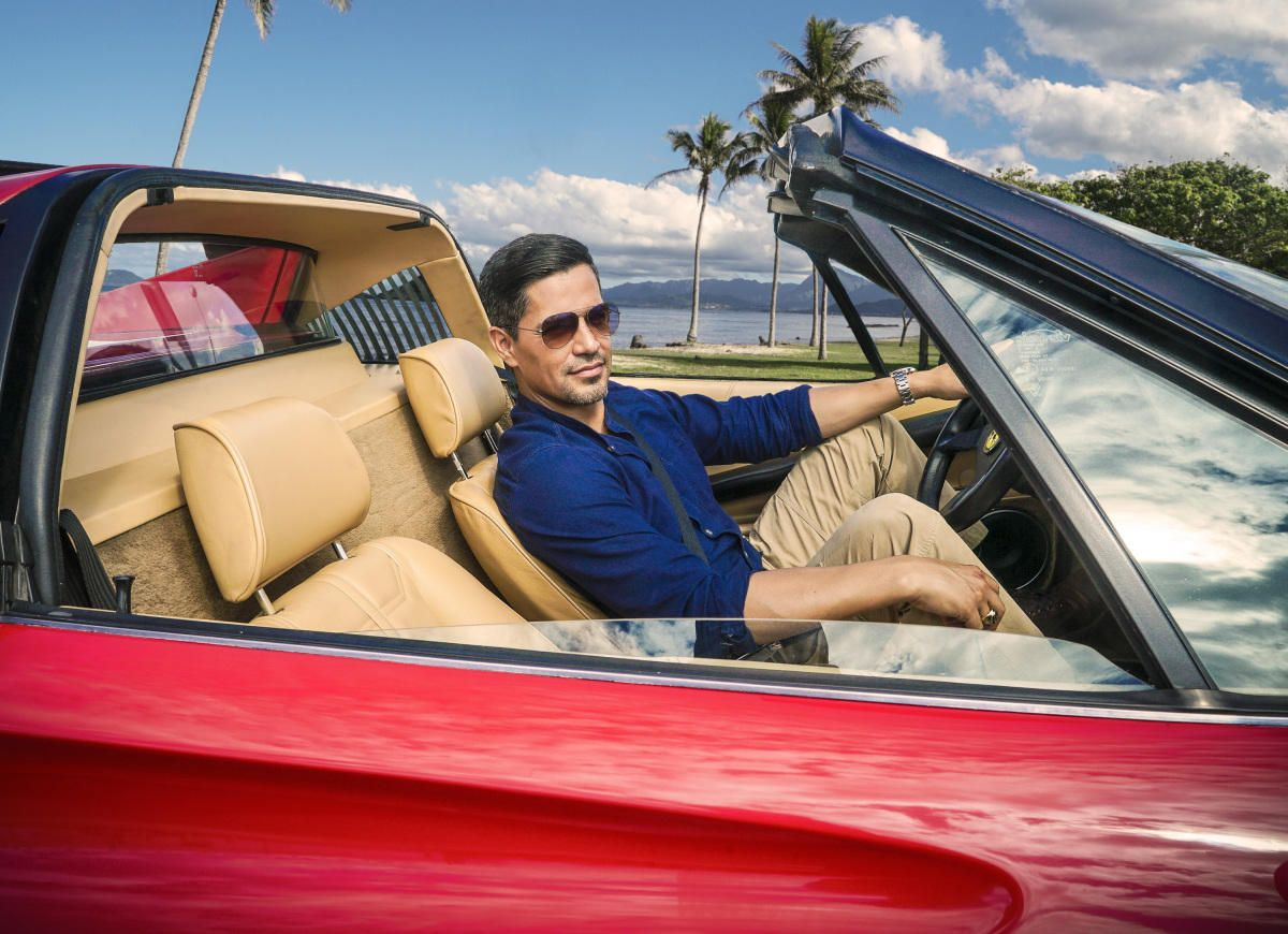 MAGNUM PI MAGNET TOM SELLECK THOMAS TV TELEVISION SHOW JONATHAN HILLERMAN HAWAII